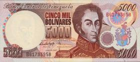 Venezuela P.78a 5000 Bolivares 1997 (1)