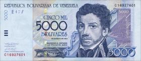 Venezuela P.84c 5000 Bolivares 2004 (1)