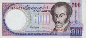 Venezuela P.67e 500 Bolivares 1995 (1)