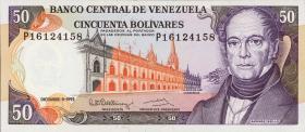 Venezuela P.65d 50 Bolivares 1992 (1)