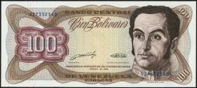 Venezuela P.66b 100 Bolivares 1989 (1)