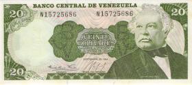 Venezuela P.64 20 Bolivares 1984 (1)