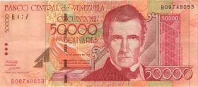 Venezuela P.83 50.000 Bolivares 1998 (3+)