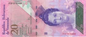 Venezuela P.91a 20 Bolivares 24.5.2007 (1)