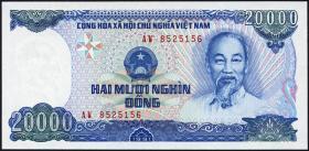 Vietnam / Viet Nam P.110a 20000 Dong 1991 (1)