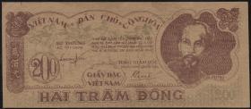 Vietnam / Viet Nam P.034a 200 Dong 1950 (2+)