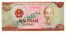 Vietnam / Viet Nam P.094s 20 Dong 1985 (86) Specimen (1)
