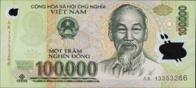 Vietnam / Viet Nam P.122i 100.000 Dong (2013) Polymer (1)