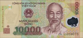 Vietnam / Viet Nam P.119g 10000 Dong (2013) Polymer (1)