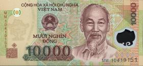 Vietnam / Viet Nam P.119e 10000 Dong (2010) Polymer (1)