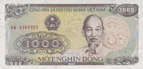 Vietnam / Viet Nam P.106 1000 Dong 1988 (1)