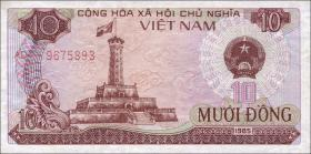 Vietnam / Viet Nam P.093 10 Dong 1985 (1)