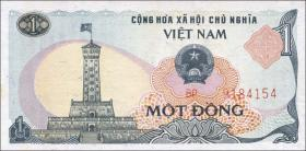 Vietnam / Viet Nam P.090 1 Dong 1985 (2)