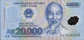 Vietnam / Viet Nam P.120d 20000 Dong (2009) Polymer (1)