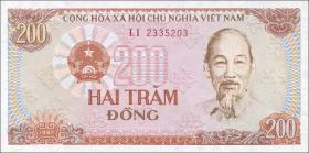 Vietnam / Viet Nam P.100a 200 Dong 1987 (1)
