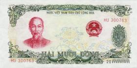 Vietnam / Viet Nam P.078A 20 Dong 1969 (1)
