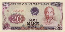 Vietnam / Viet Nam P.094 20 Dong 1985 (1986) (1)
