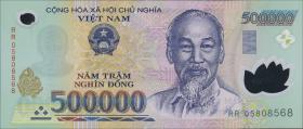 Vietnam / Viet Nam P.124c 500.000 Dong (2005) Polymer (1)