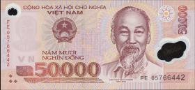 Vietnam / Viet Nam P.121c 50000 Dong (2005) Polymer (1)