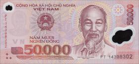 Vietnam / Viet Nam P.121j 50000 Dong (2014) Polymer (1)