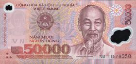 Vietnam / Viet Nam P.121h 50000 Dong (2011) Polymer (1)