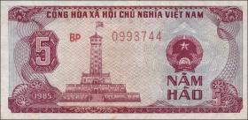 Vietnam / Viet Nam P.089 5 Hao 1985 (1)