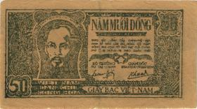 Vietnam / Viet Nam P.027c 50 Dong (1948) (3)