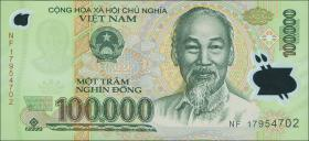 Vietnam / Viet Nam P.122m 100.000 Dong (20)17 Polymer (1)