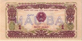 Vietnam / Viet Nam P.077s 1 Hao 1976 Specimen (1)