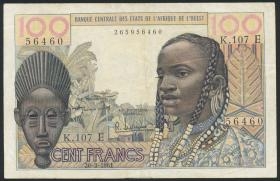 West-Afr.Staaten/West African States P.501Eb 100 Fr. o.D.(3)