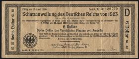 WBN-1 6 Dollar Schatzanweisung 1923 5 Dollar - 15. April 1926 (3)