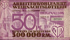 Arbeiterwohlfahrt Weihnachtslotterie 1930 (2)