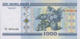 Weißrussland / Belarus P.28 1000 Rubel 2000 (1)