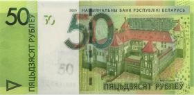 Weißrussland / Belarus P.40b 50 Rubel 2020 (1)