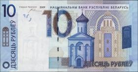 Weißrussland / Belarus P.neu 10 Rubel 2009 (2016) (1)