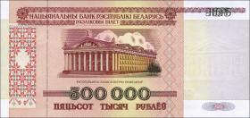 Weißrussland / Belarus P.18 500.000 Rubel 1998 (1)