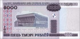 Weißrussland / Belarus P.29 5000 Rubel 2000 (1)