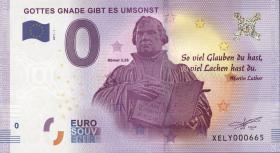 0 Euro Souvenir Schein Martin Luther (1)
