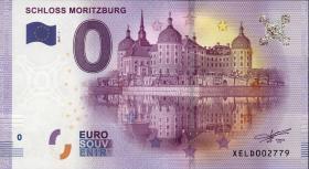 0 Euro Souvenir Schein Schloss Moritzburg 2017 - II (1)
