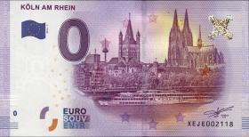 0 Euro Souvenir Schein Köln am Rhein (1)