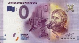 0 Euro Souvenir Schein Lutherstube Wartburg (1)