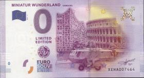 0 Euro Souvenir Schein Miniatur Wunderland (1)