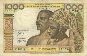 West-Afr.Staaten/West African States P.702Kn 500 Francs o.D. (4)