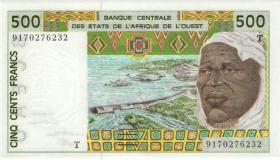 West-Afr.Staaten/West African States P.810Ta 500 Francs 1991 (1)