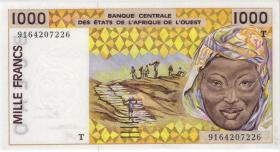 West-Afr.Staaten/West African States P.811Tk 1000 Francs 2001 (1)