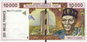 West-Afr.Staaten/West African States P.714Kd 10000 Francs 1996 (1)