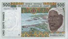 Togo P.810T 500 Francs 1991-2002 (1)