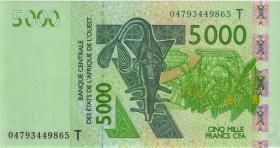 West-Afr.Staaten/West African States P.817Tb 5000 Francs 2004 (1)