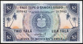 West Samoa P.17a 2 Tala (1967) (2)