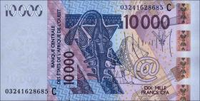 Burkina Faso P.318Ca 10000 Francs 2003